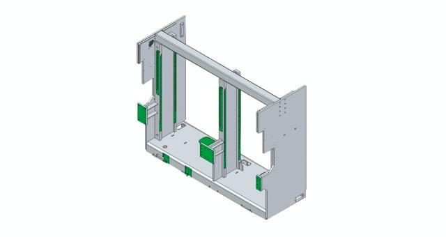 Моноблочная конструкция станка Celaschi P 30