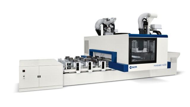 Обрабатывающий центр с ЧПУ для сверления и фрезерования SCM Morbidelli M220 (Италия)