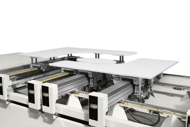 Рабочий стол HE-POD обрабатывающего центра с ЧПУ Morbidelli M220 (Италия)
