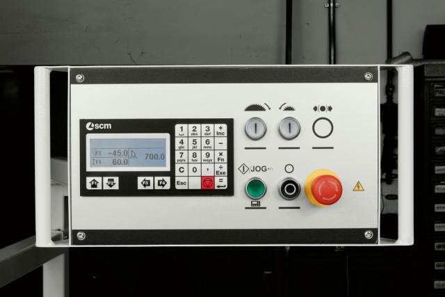 Управление устройством Ready UP для станка Minimax SI X, производство SCM (Италия)