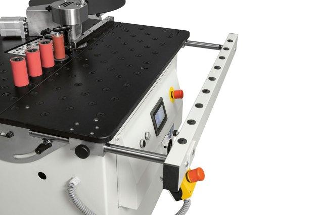 Мобильное расширение передней части Minimax E 20, производство SCM Group (Италия)