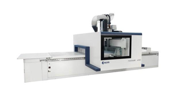 Обрабатывающий центр с ЧПУ для нестинга Morbidelli X400, производство SCM (Италия)