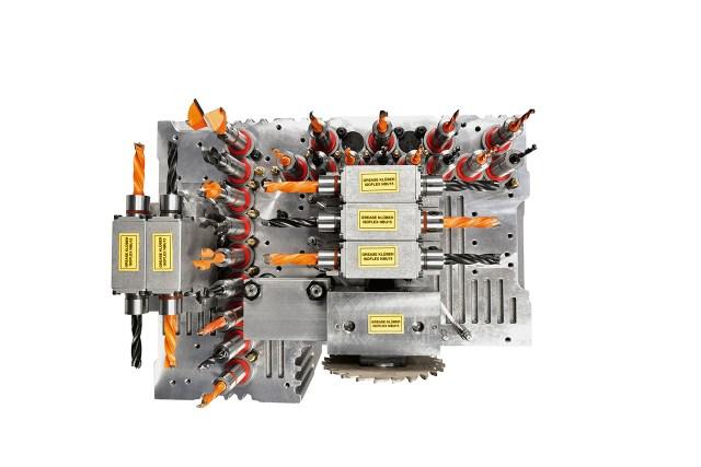 Рабочая голова Morbidelli X200-X400, производство SCM (Италия)