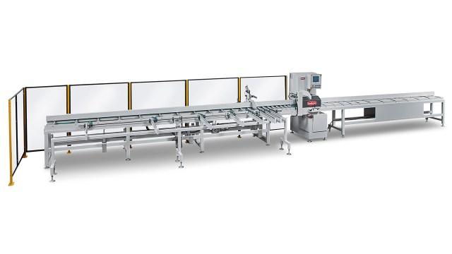 Полуавтоматические торцовочные станки серии R, производство Bottene Италия