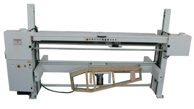 Шлифовальный станок для корпусов гробов, модель LA, производитель Fiorenza Италия
