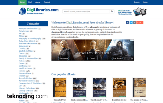 tempat download ebook gratis terlengkap