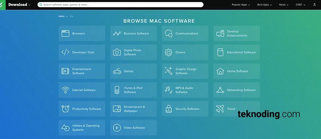situs download aplikasi macbook mac os x cnet