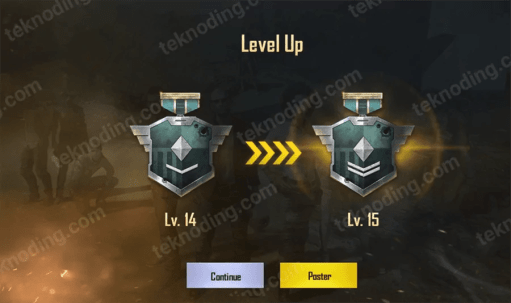 tips naik level pubg mobile android