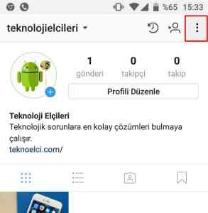 instagram arama geçmişi