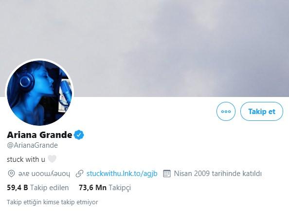 10- Ariana Grande