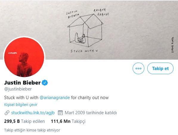 2- Justin Bieber