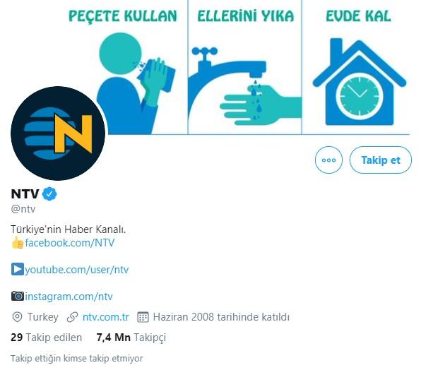 türkiye en çok takipçisi olanlar ntv