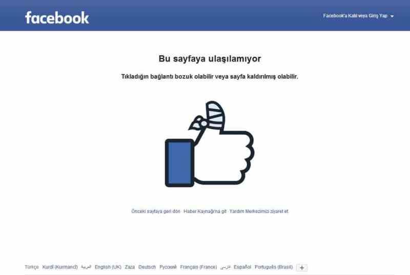 facebook engellendiğimi nasıl anlarım