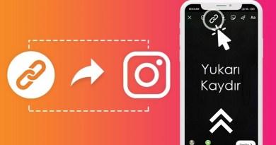 Instagram 10 000 Takipçi Olmadan Hikayelere Link Ekleme (Kaydırma)