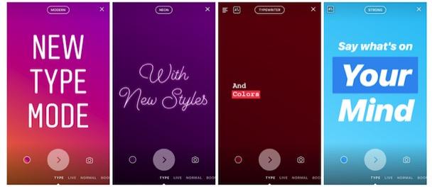 Instagram Değişik Yazı Tipleri