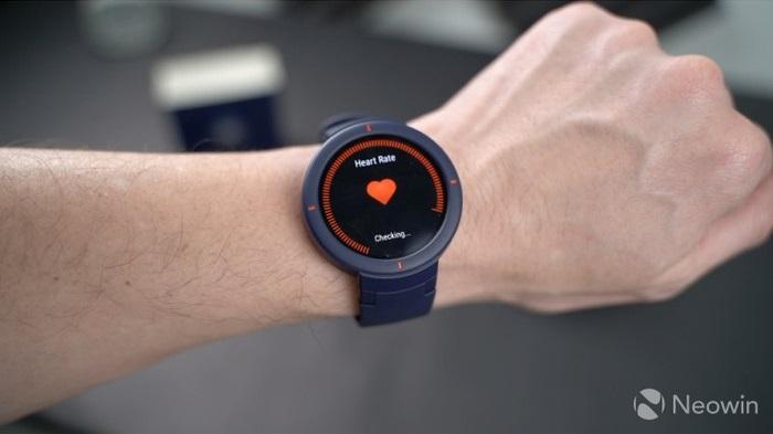Xiaomi Amazfit Verge kalp atış ölçümü