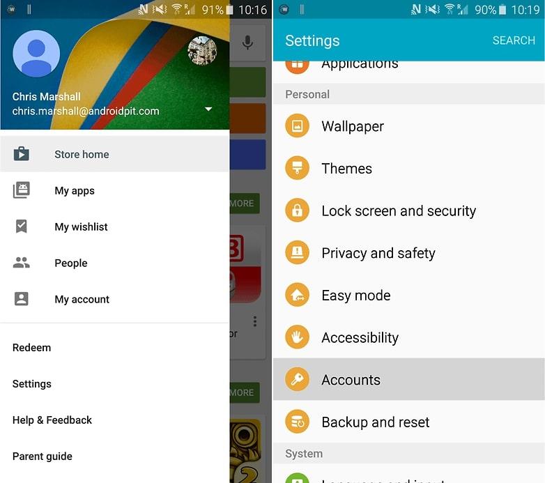 Kurulumu Yaptıktan Sonra Google Play Store Hesabınızı Açın