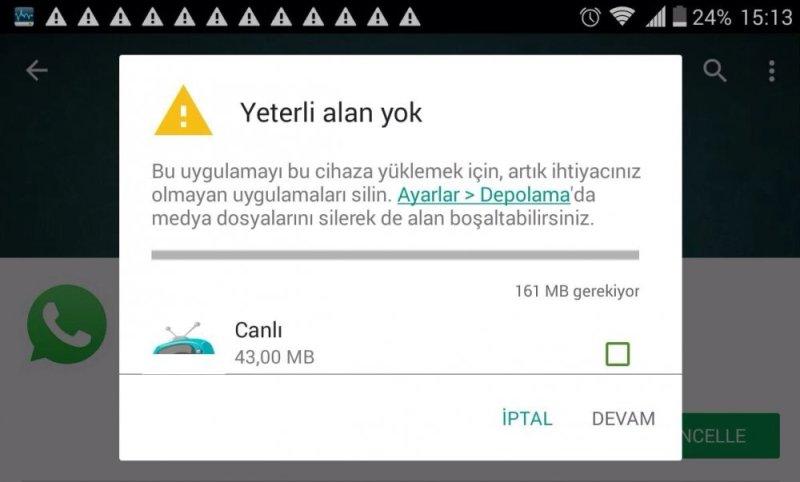 Mobil Uygulamalar Üzerinden Gereksiz Dosyaları Silme