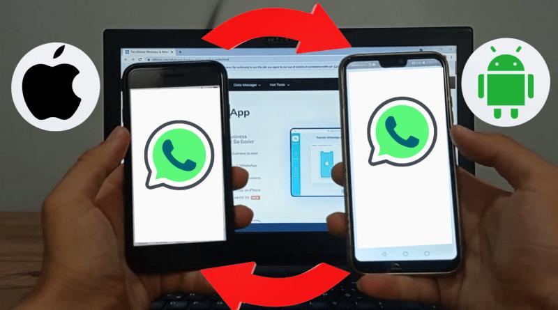Android iPhone Birbirine Whatsapp Mesajları Aktarma