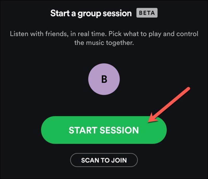 Grup Oturumu Başlatma