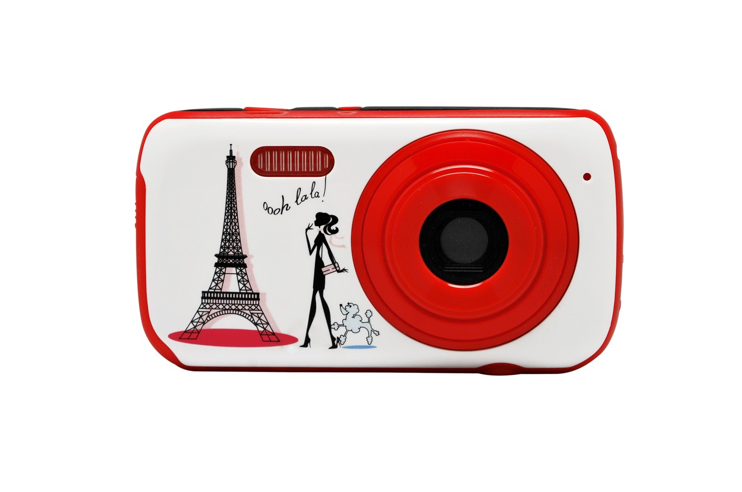 Digital Camera with 3 interchangeable faces Paris Fashion 4