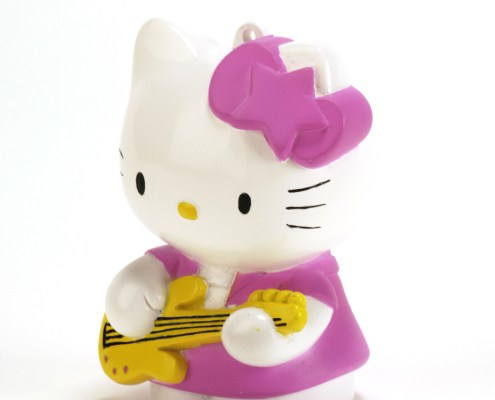 Figurine lumineuse Hello Kitty Rock 8 cm 5