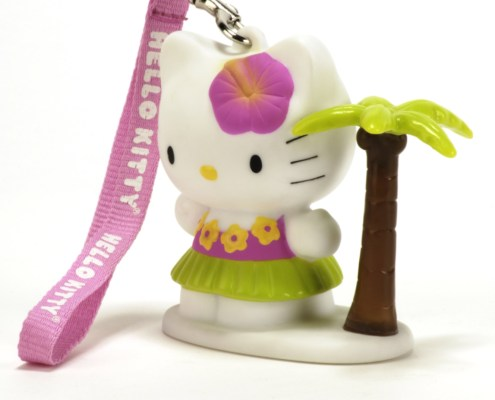 Figurine lumineuse Hello Kitty Beach 8 cm 4