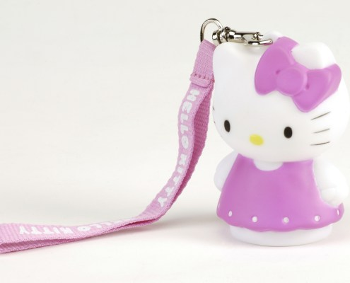 HELLO KITTY DRESS LED light 8cm with hand-strap 4