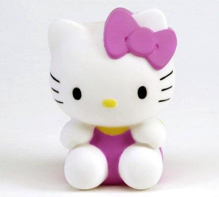 Figurine lumineuse Hello Kitty Assise 13 cm 3