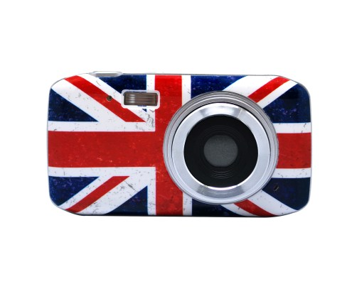 Digital Camera Slim UK Grunge 1