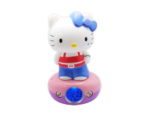 Veilleuse horloge numérique hello kitty hip hop 1