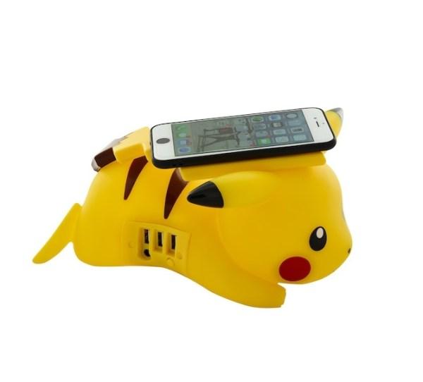 Chargeur Sans Fil à Induction Pokémon Pikachu 4