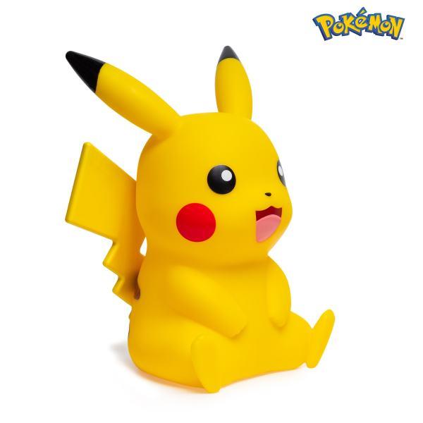 Lampe LED pokémon pikachu 40cm côté droit