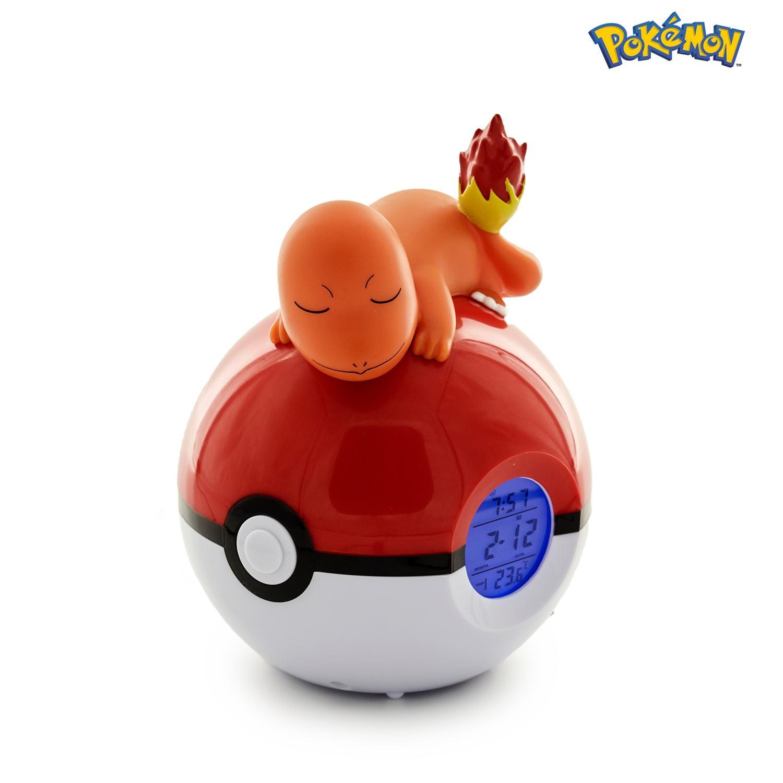 Radio-réveil lumineux numérique Pokémon Salamèche 1
