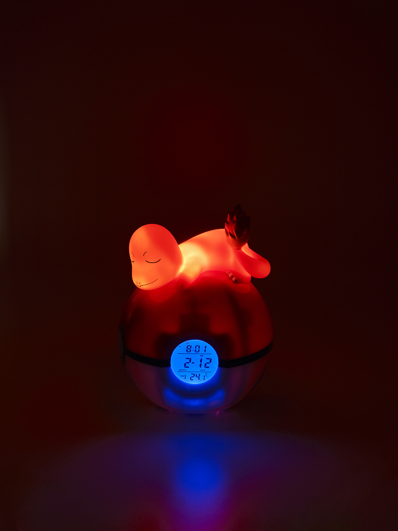 Charmander Light-up 3D figure FM Alarm Clock 3