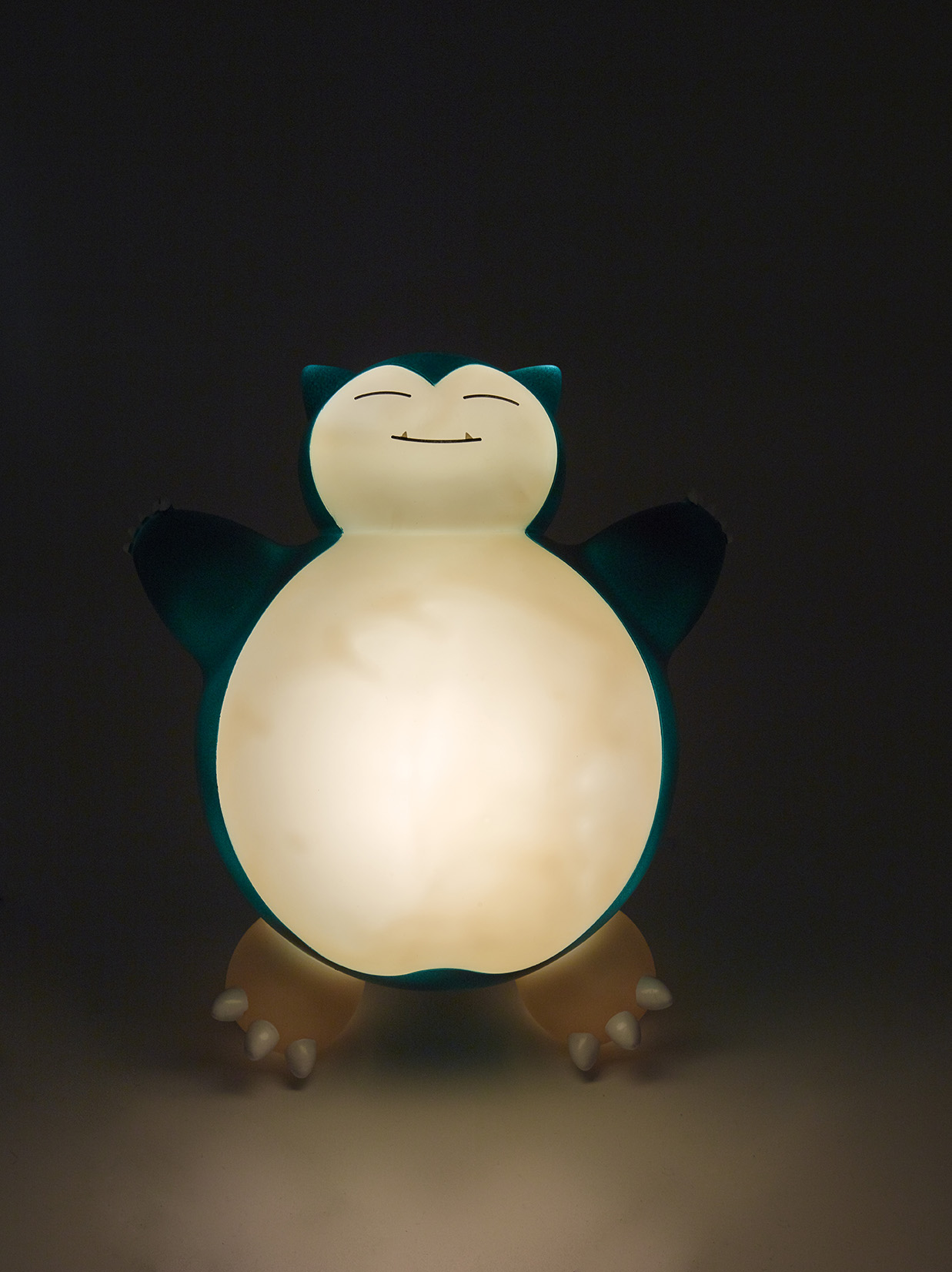 Pokémon snorlax led lamp night view