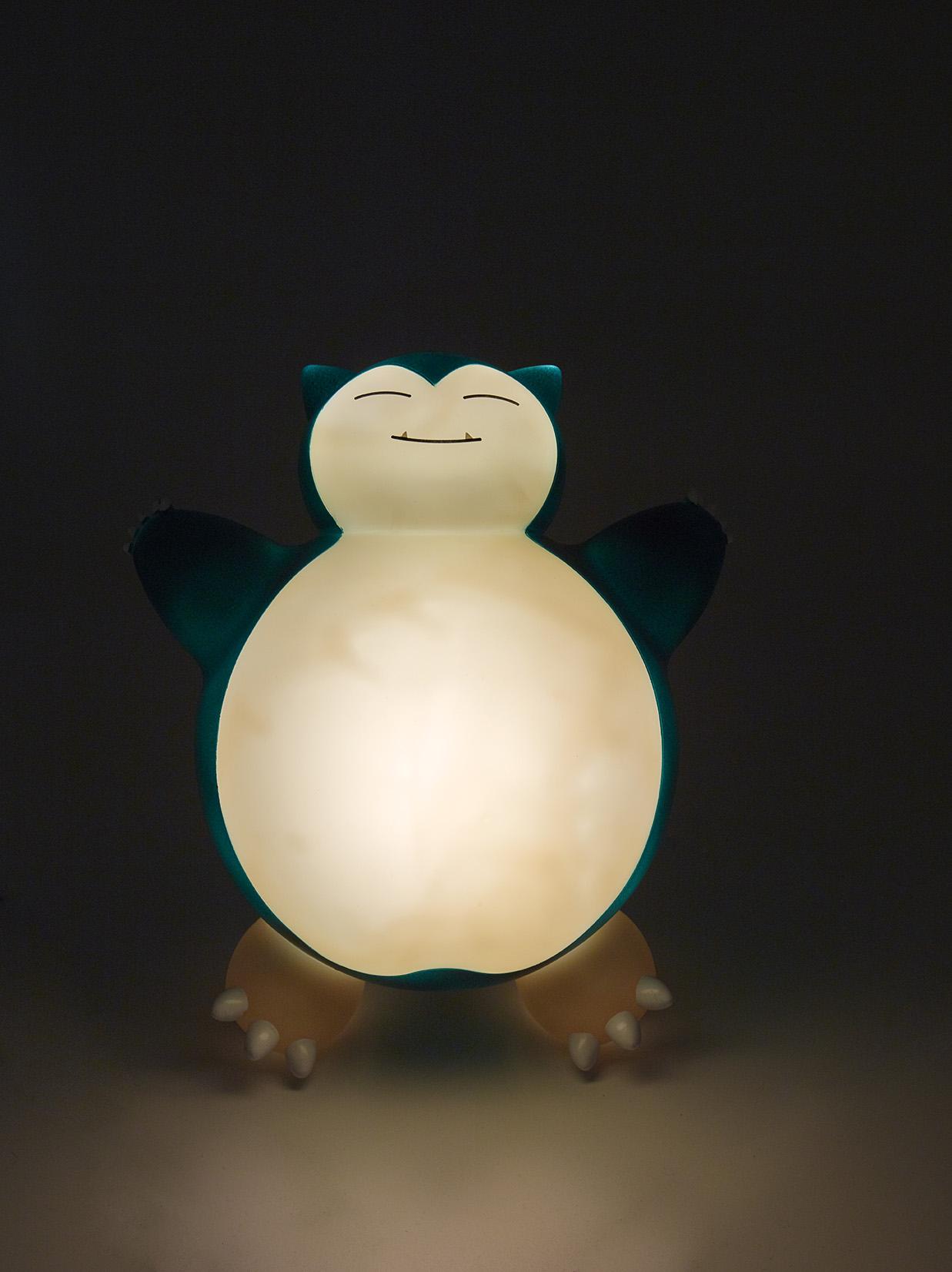 Pokémon snorlax led lamp night view