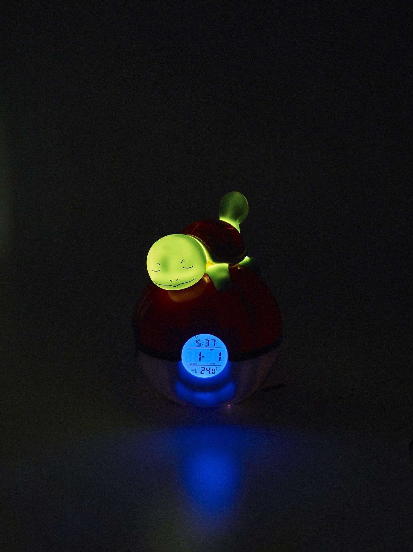 Pokémon Squirtle Night light and Alarm Clock 4
