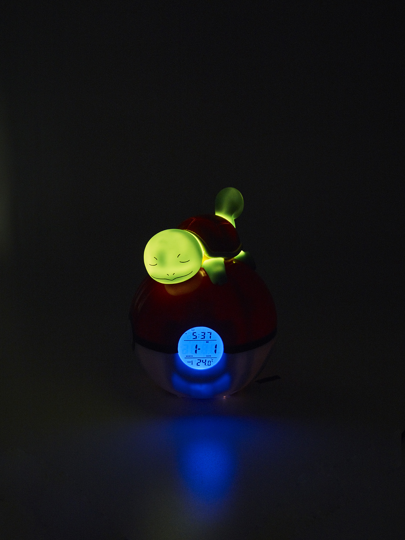 Pokémon Squirtle Light-up 3D figure FM Alarm Clock 5