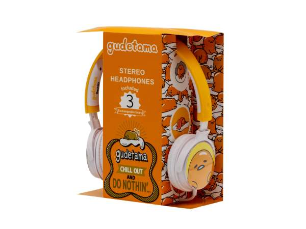 Casque audio 3 faces échangeables Gudetama 4