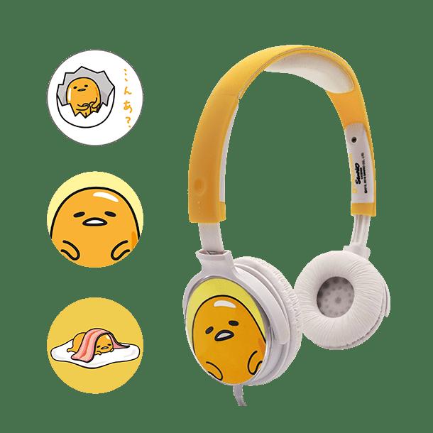 Casque audio personnalisable 3 faces Gudetama 1