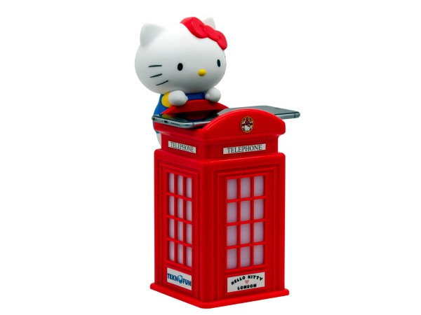 Hello Kitty Wireless Charger London Phone Booth 2