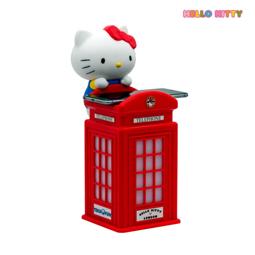Chargeur sans fil Hello Kitty Cabine téléphonique Londonienne 1