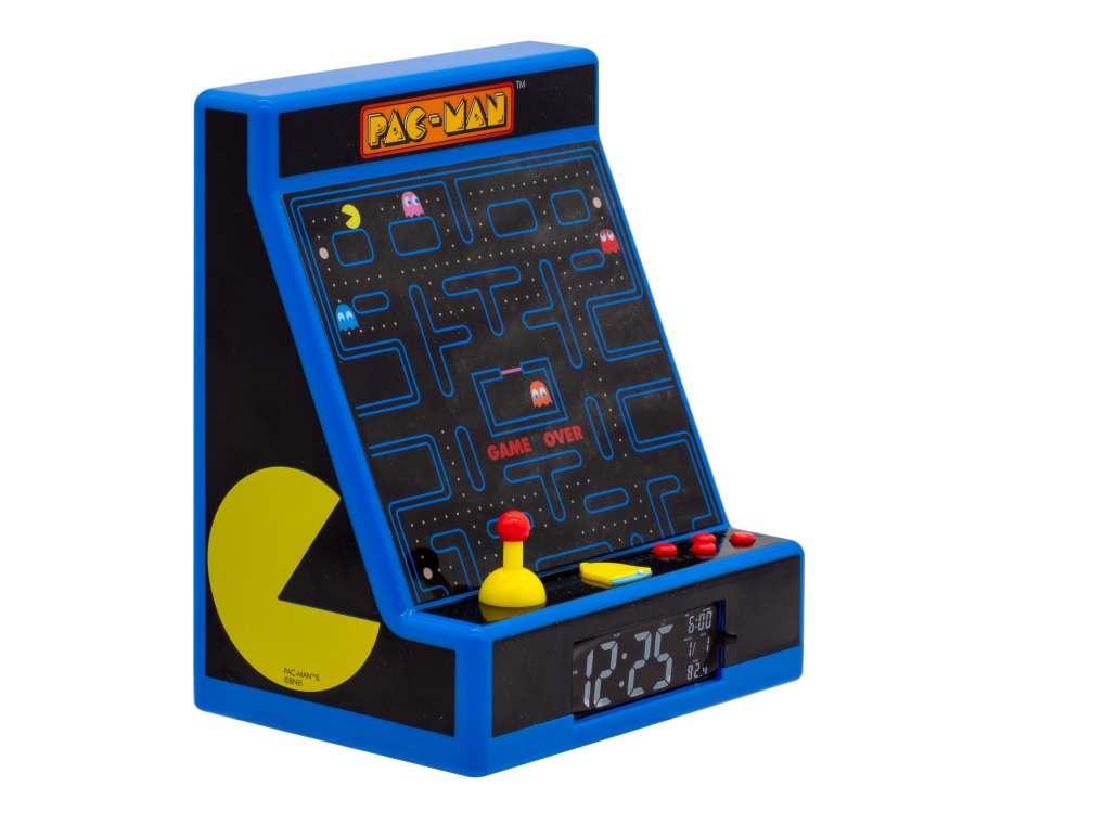 Pac-Man arcade alarm clock 2