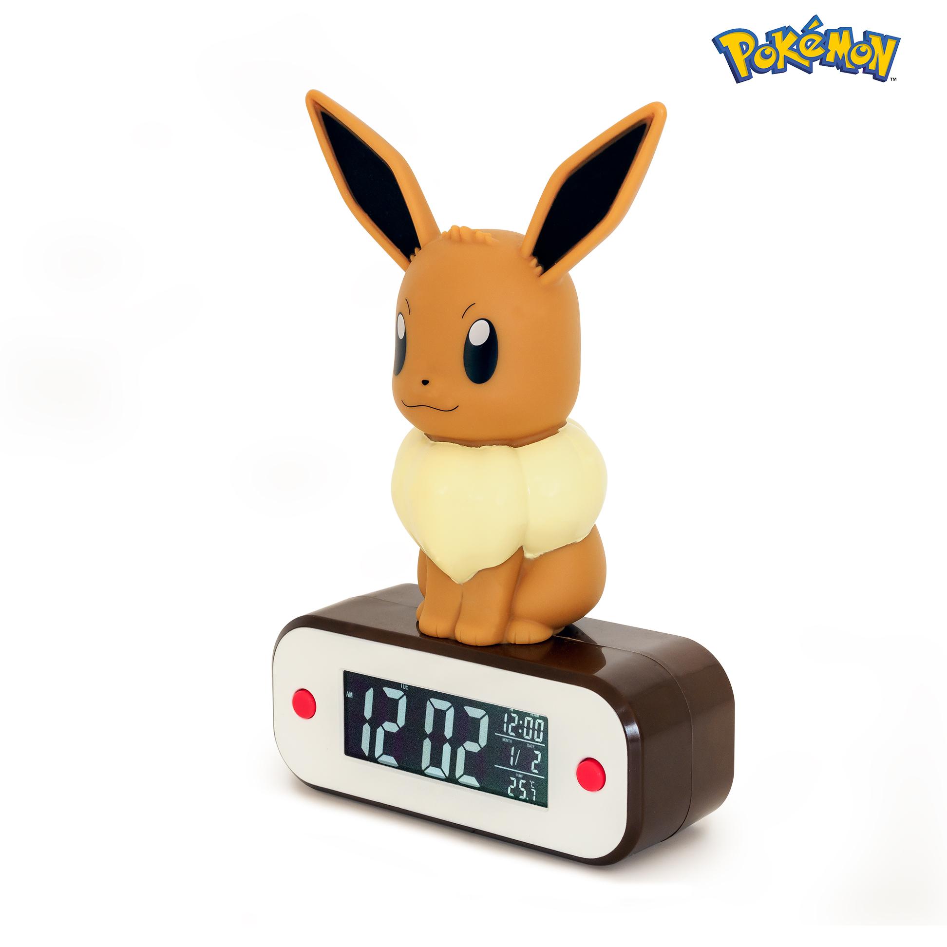 Numérique Pikachu Réveil Pokémon Radio Lumineux gyb6Y7fv