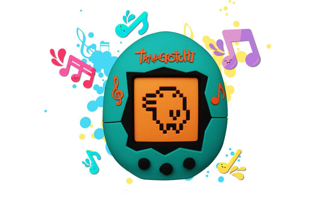 Tamagotchi wireless speaker 1