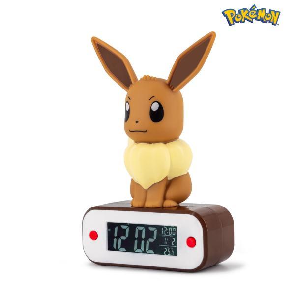 Pokémon Eevee Light-up 3D figure Alarm Clock 3