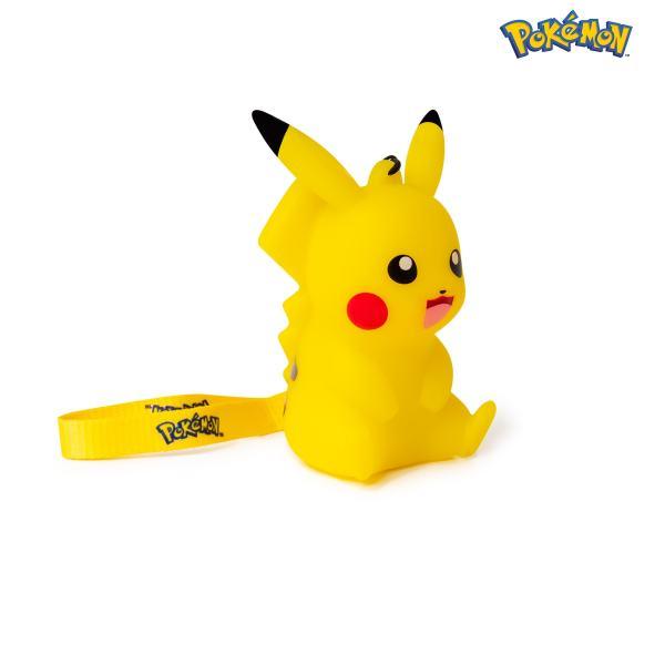 Figurine lumineuse pokémon pikachu 9cm côté droit
