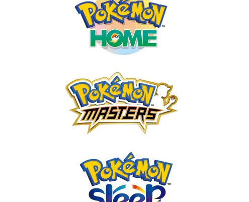 Pokémon logos Home, Sleep, Masters