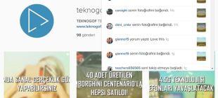Instagram Web'e, Bildirim Özelliği Geldi